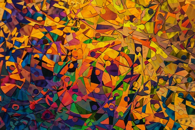 Pattern, Abstract, Art, Bright, Leaf, Attractive