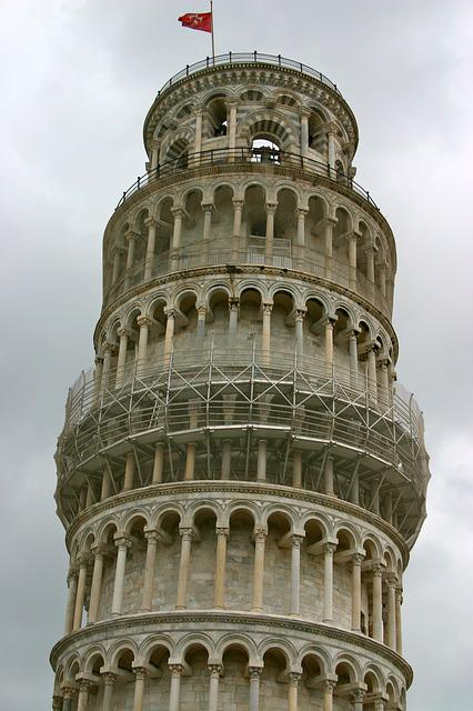 Florence, Pisa, Leaning Tower