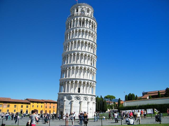 Pisa, Leaning Tower, Unintended Tilt, Pisan Tower
