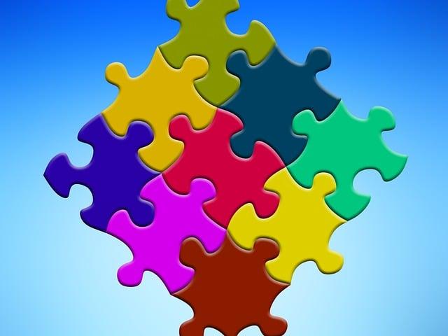 Puzzle, Learn, Arrangement, Components, Collage, Items