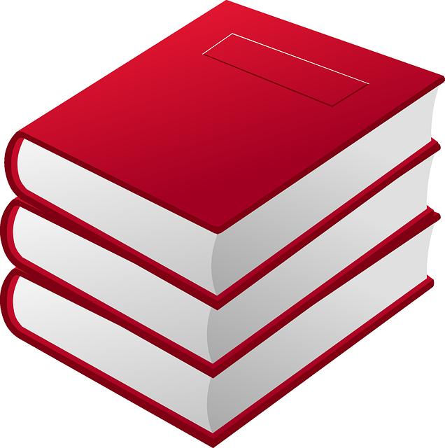 Books, Pile, Red, Reader, Reading, Staple, Learning