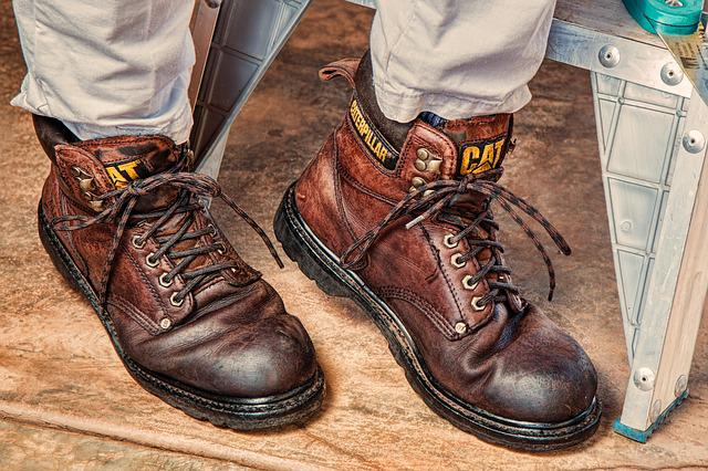 Work Boots, Footwear, Protection, Leather, Safety, Boot