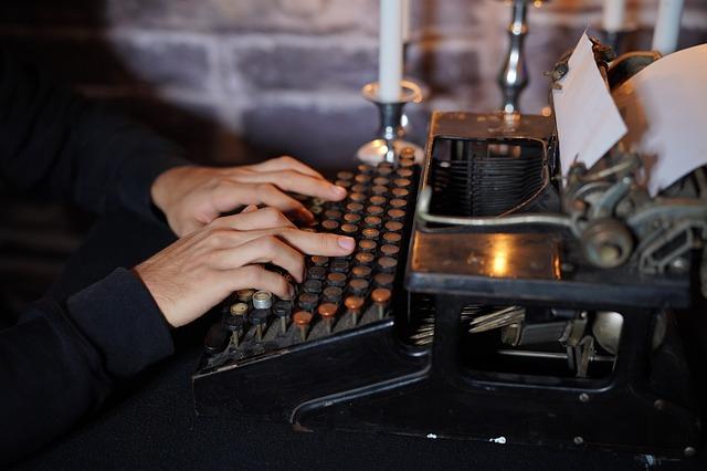Typewriter, Antique, Leave, Old Typewriter, Nostalgia