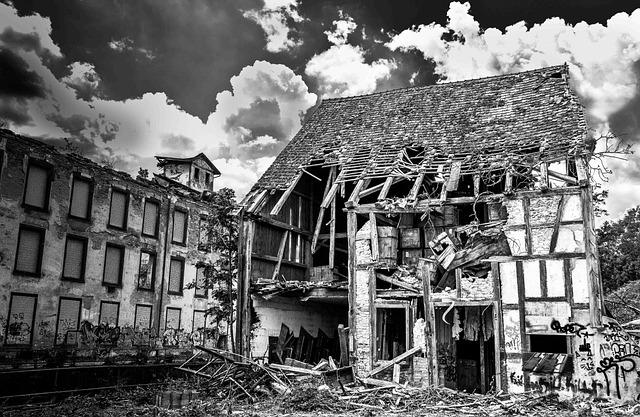 Break Up, Crash, Demolition, Leave, Ruin, Home