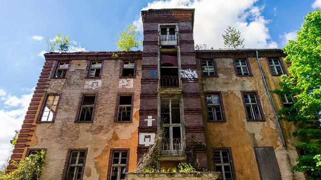Architecture, Building, Old, Leave, Decay, Break Up