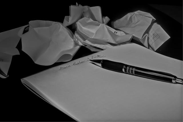 Letters, Leave, Pen, Parking Ticket, Scrunching
