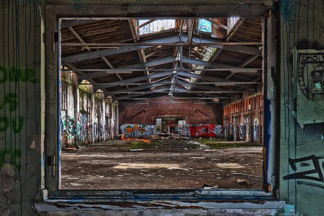 Leave, Architecture, Old, Ruin, Lapsed, Break Up