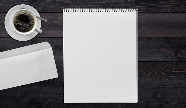 Writing Pad, Envelope, Coffee, Table, Leave, Message