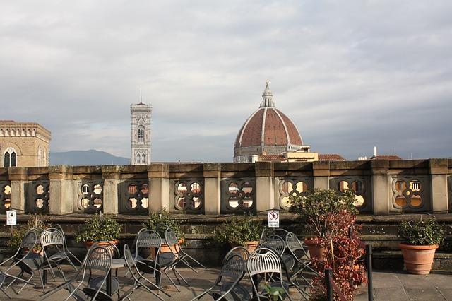 Leaving Raa, Uffizi Museum, Duomo