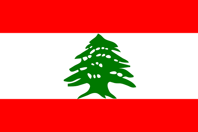 Lebanon, Flag, National, Lebanese, Republic, Country