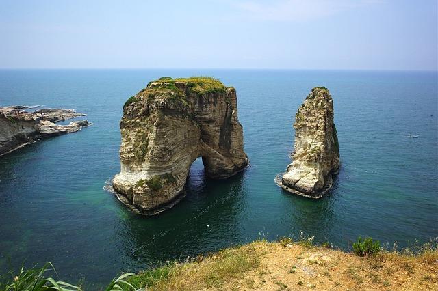 Landscape, Lebanon, Sea, Travel