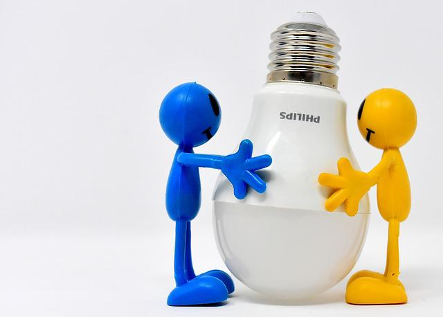 Energiesparlampe, Led, Figures, Funny, Bulbs, Lamp