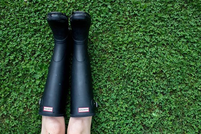 Green, Grass, Outdoor, Field, Leg, Boots