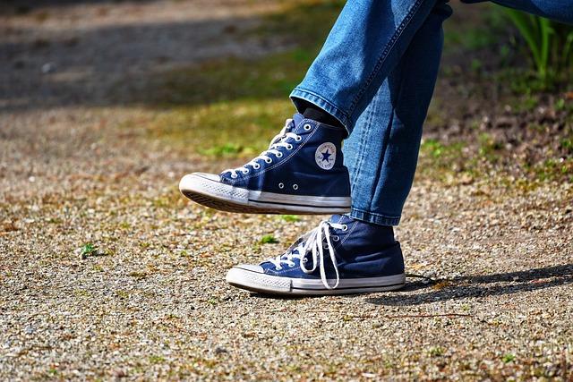 Leg, Foot, Shoe, Sneaker, Man, Men's Shoe, Jeans