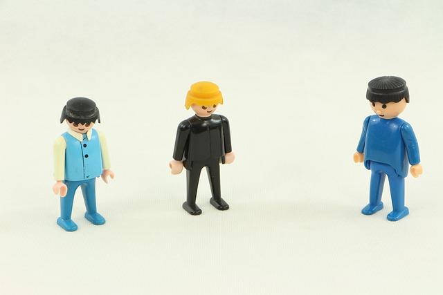 Playmobil, Lego, Figurine, Business, Meeting