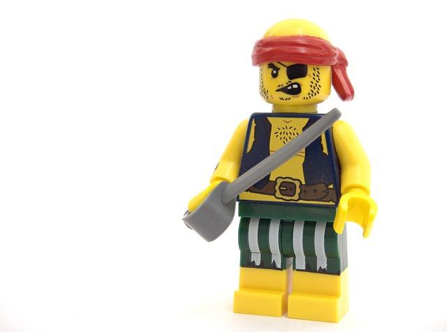 Pirate, Lego, Robber, Criminal, Theft, Thief, Software