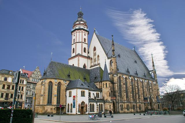 Leipzig, Saxony, Germany, Church, Thomas Church
