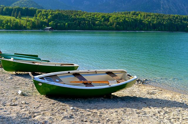 Lake, Boot, Nature, Walchensee, Alpine, Blue, Leisure