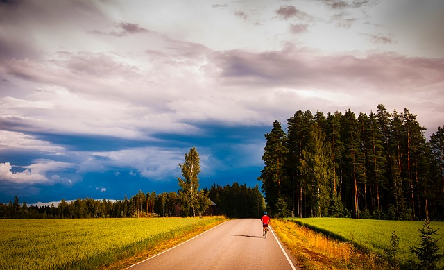 Romania, Landscape, Scenic, Bicycle, Bicycling, Leisure