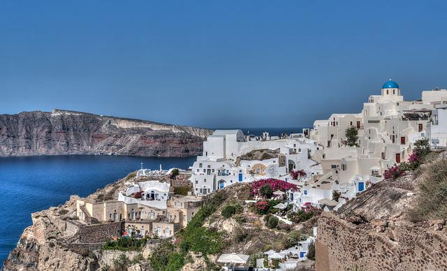 Santorini, Oia, Greece, Leisure, Travel, Summer, Greek