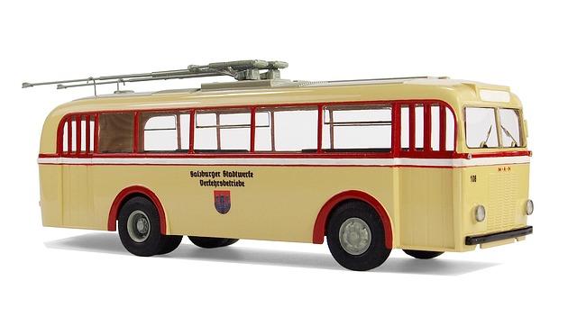 One, Type Mpe Schumann, Trolley Bus, Model Bus, Leisure