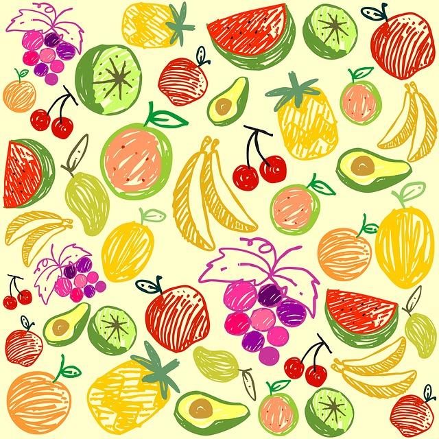 Seamless, Pattern, Decoration, Element, Lemon