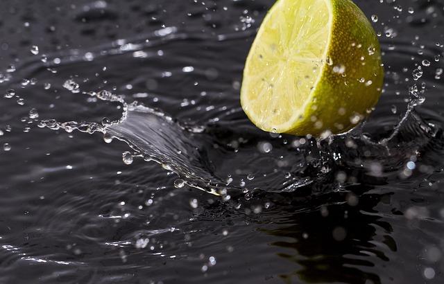 Lemon, Freshness, Fruit, Spray, Drops, Juice, Yellow