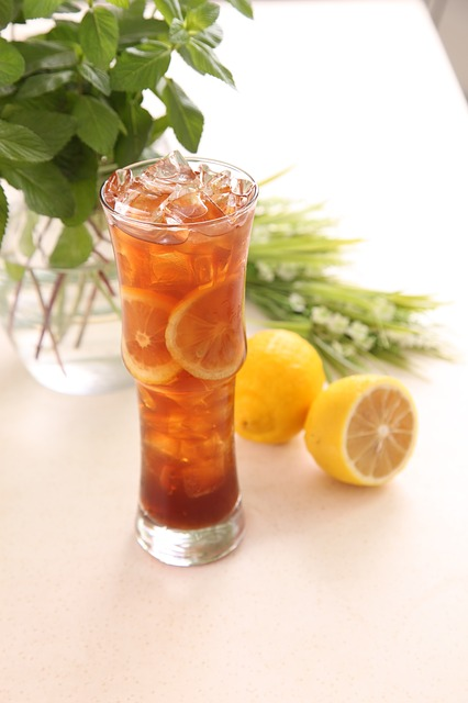 Lemon Tea, Lemon, Cold Beverages, Beverage