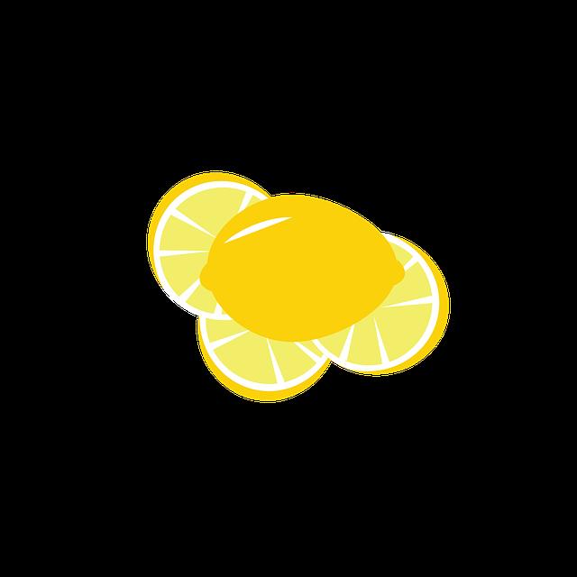 Lemons, Citrus, Slices