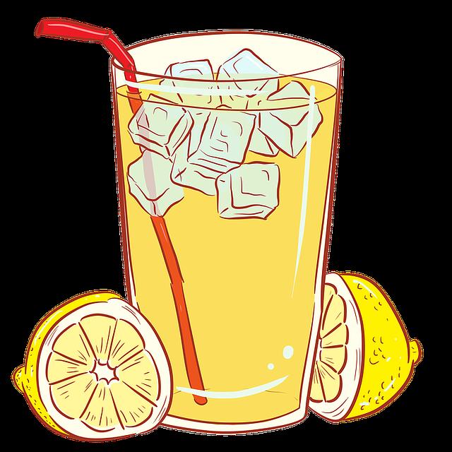 Lemonade, Lemons, Glass, Beverage, Refreshment, Yellow
