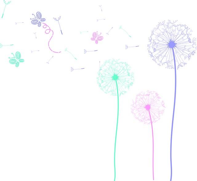 Papyri, Butterflies, Leon, Dandelion