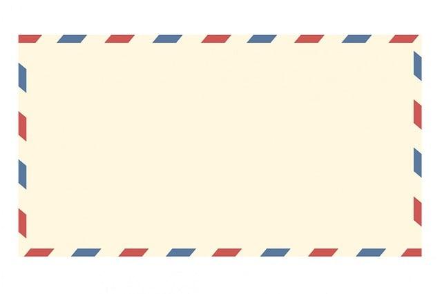 Airmail Envelope, Vintage, Letter, Mail, Paper, Airmail