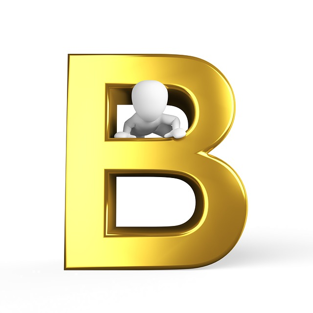 B, Letter, Alphabet, Alphabetically, Abc