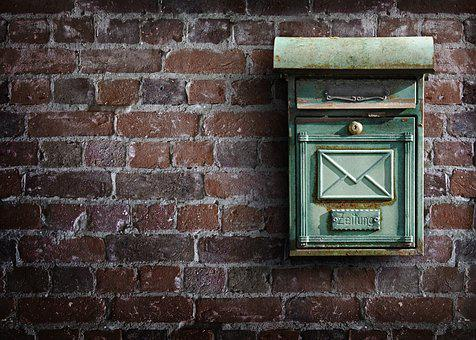 Mailbox, Wall, Post, Letter Boxes, Stone Wall