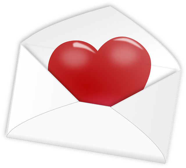 Heart, Letter, Love, Mail, Valentine, Romantic