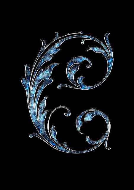 Letter, Letter C, C, Initials, Font, Alphabet