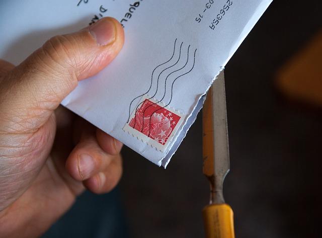Mail, Letter, Correspondence, Envelope, Stamp