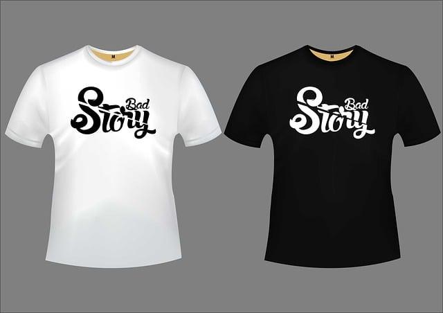 Bad Story, Design, Tshirt, Lettering