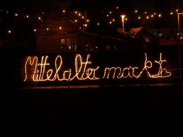 Lichterkette, Lettering, Lighting, Light