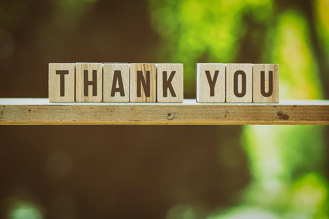 Thank You, Feedback, Letters, Greeting Card, Birthday