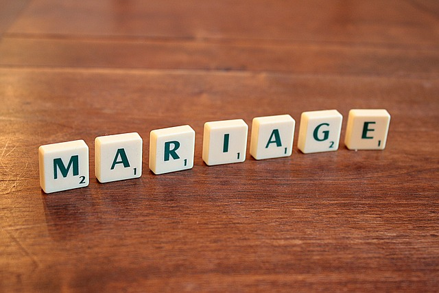 Wedding, French, Scrabble, Word, Letters, Right