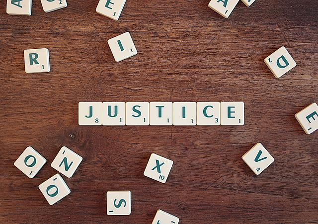 Justice, Right, Legal, Lawyer, Word, Letters