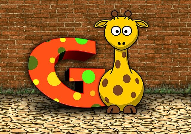 Letters, Abc, Education, Giraffe, Alphabet, Literacy