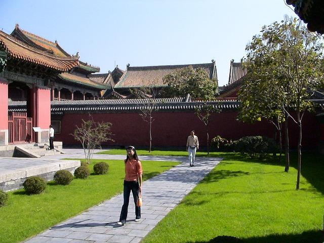 Shenyang, Liaoning, China, Woman, Girl, Run, Walk