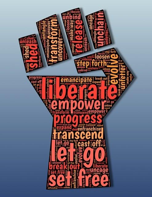 Emancipate, Liberation, Liberate, Enfranchise, Freedom