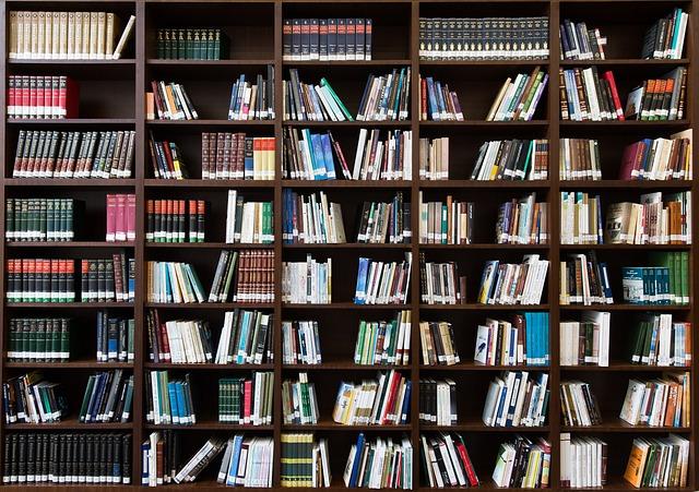 Books, Bookshelf, Library, Education, Literature, Read