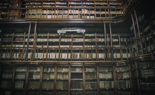 Architecture, Book, Books, Buildings, Inside, Library