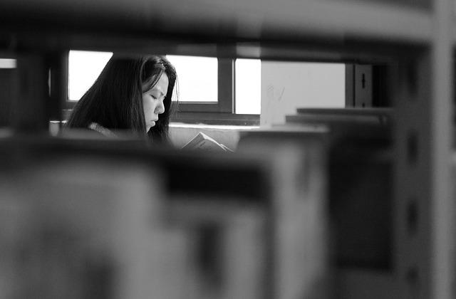 Documentary, Black And White, Nikon, Library, People