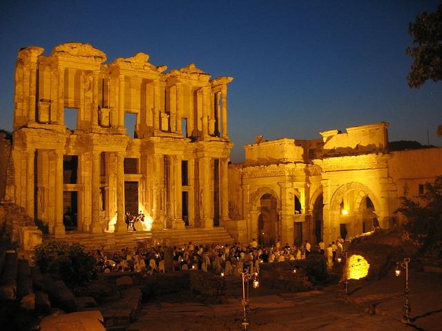 Ephesus, Library, Turkey, Ruin, Ancient, Architecture