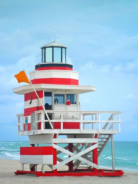 Lifeguard On Duty, Home, Beach